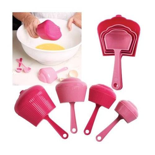 cupcake shaped measuring spoons