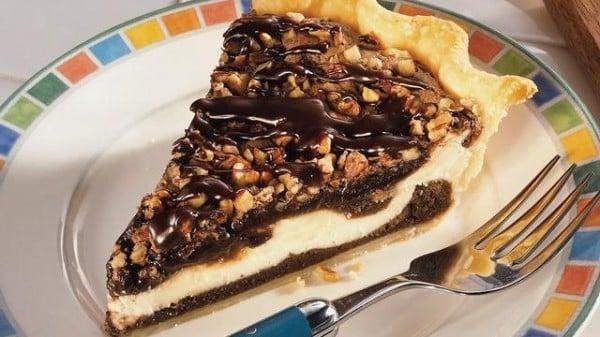 MILLION DOLLAR WINNER: Cream Cheese Brownie Pie