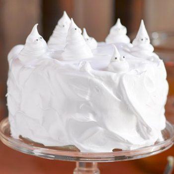 ghost halloween cake