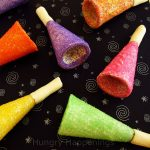 Edible Party Horns for New Year's Eve!