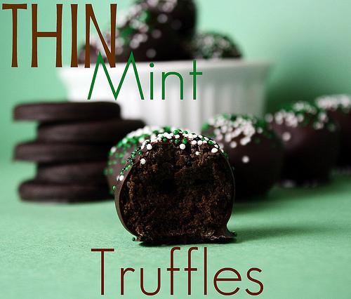 thin mint truffles