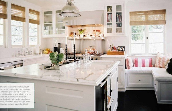 {Kitchen} Dreaming in White!