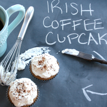 {Recipe} Irish Coffee Cupcakes