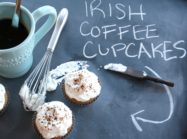 {Recipe} Irish Coffee Cupcakes