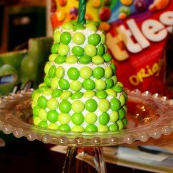 skittles wrigley cake