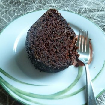 {Recipe} Chocolate Zucchini Bundt Cake