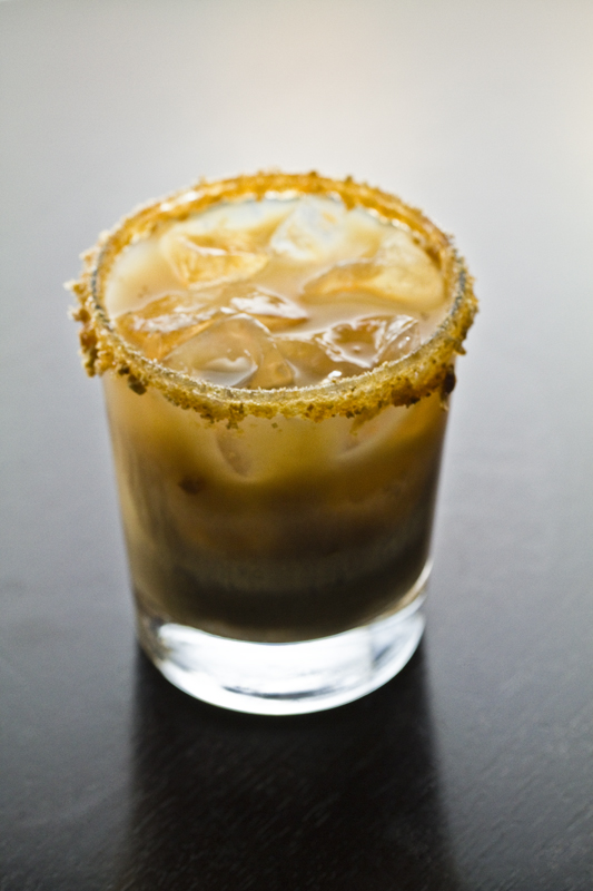 Peach Cobbler Cocktail