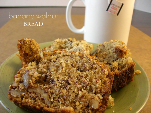 Delicious Banana Walnut Bread Recipe