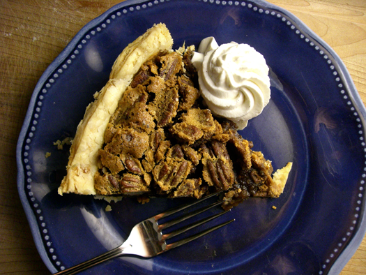 Southern Brown Sugar Pecan Pie