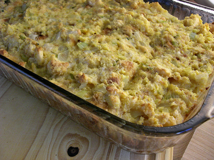 Southern-Style Cornbread Dressing Recipe!