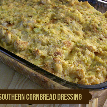 Southern-Style Cornbread Dressing: Traditional and a TOTAL fave!