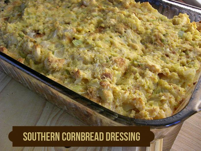 Southern Style Cornbread Dressing