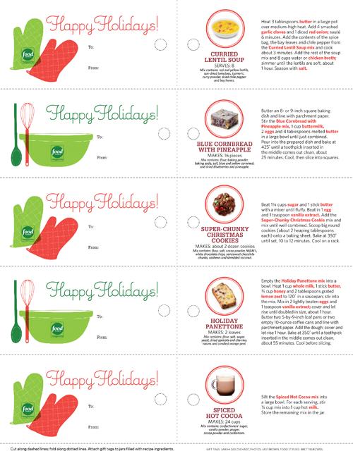 7 holiday food gifts recipes