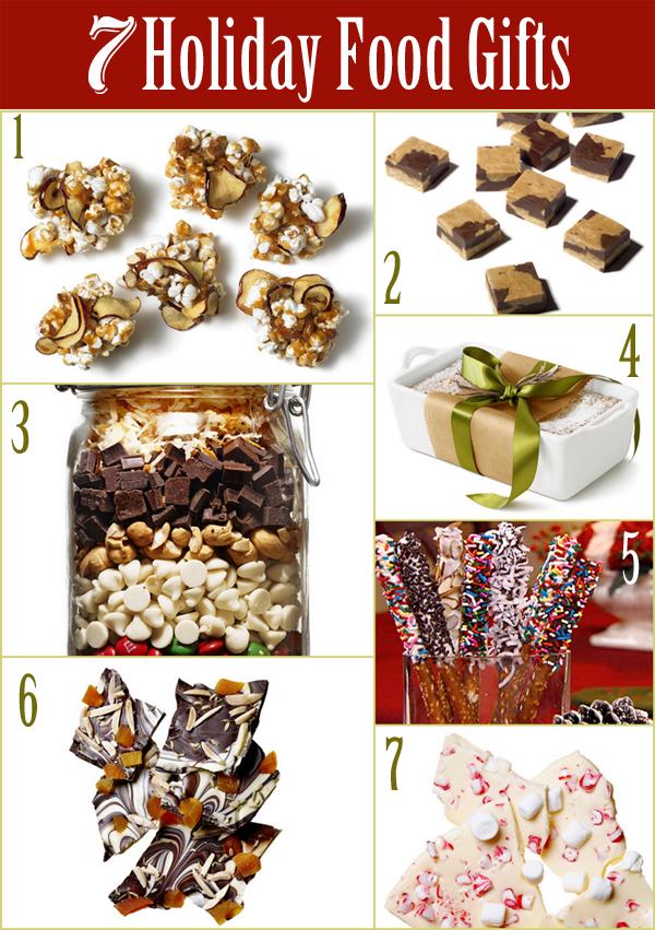 7 Holiday Food Gifts & Recipes!