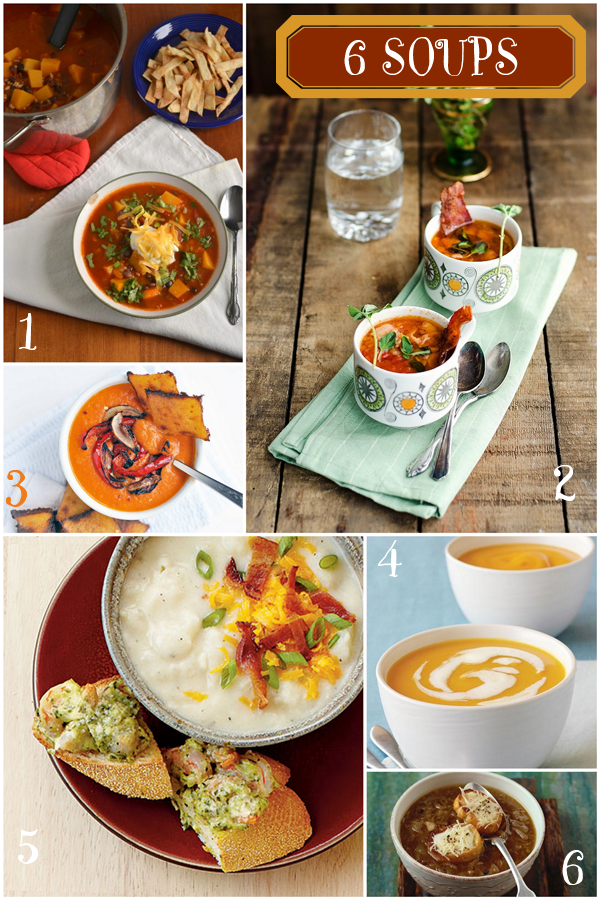 6 Comfy Cozy Soup Recipes Perfect for Winter!