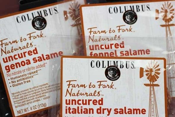 Artisan Salame from Columbus Foods