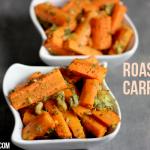 Easy Roasted Carrots Recipe
