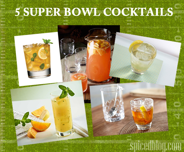 5 Super Bowl Cocktails for your Party! #superbowl