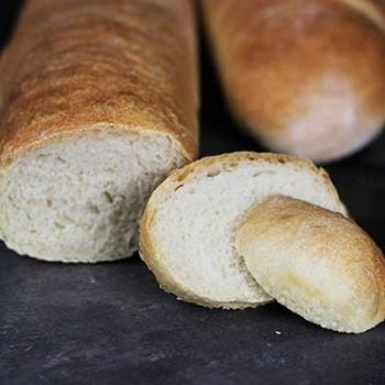 Homemade Baguettes--nothing beats the taste of fresh bread right out of the oven!