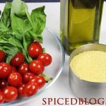 Mediterranean Couscous with Roasted Tomatoes