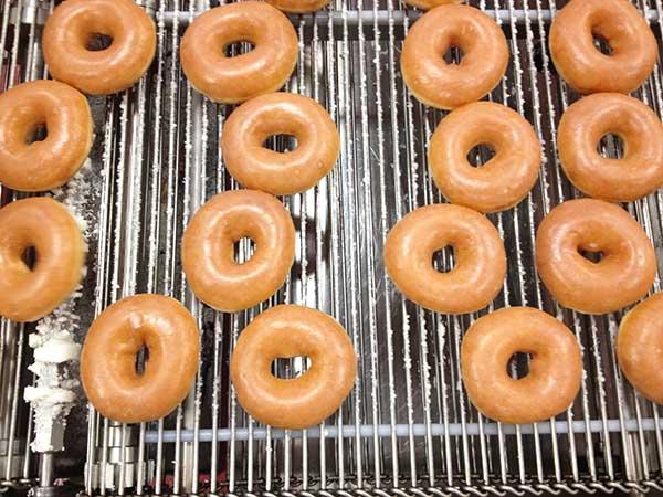 Lemon Blueberry Tart with Krispy Kreme Doughnut Crust