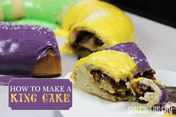 How to Make a King Cake for Mardi Gras! LET THE GOOD TIMES ROLL!