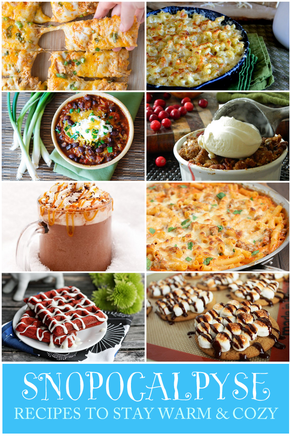 Snowpocalpyse Recipes 2013! Recipes to cozy up for this WINTER BLIZZARD!