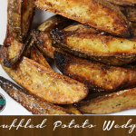 Homemade Truffled Potato Wedges