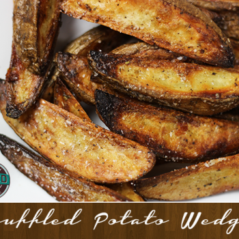 How to make homemade truffled potato wedges!