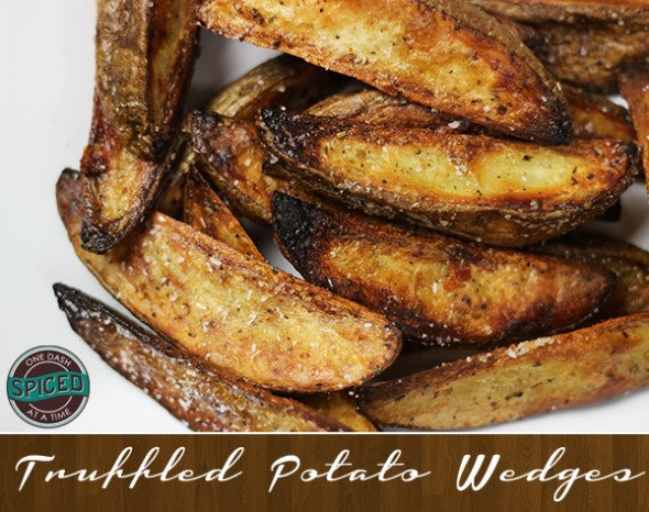 Truffled Potato Wedges