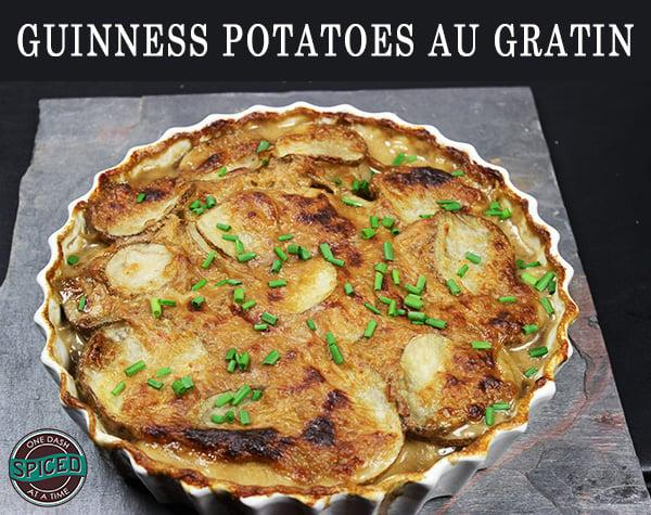 Guinness Potatoes Au Gratin