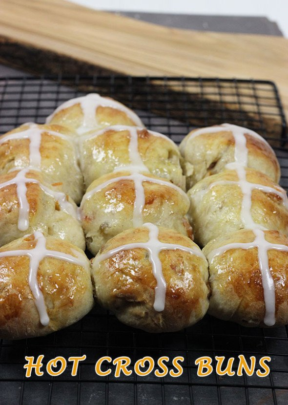 Hot Cross Buns--make these for Good Friday!