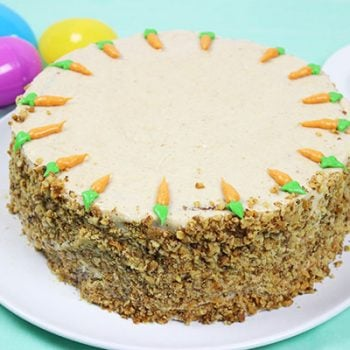 Carrot Cake with Brown Sugar Cream Cheese Frosting