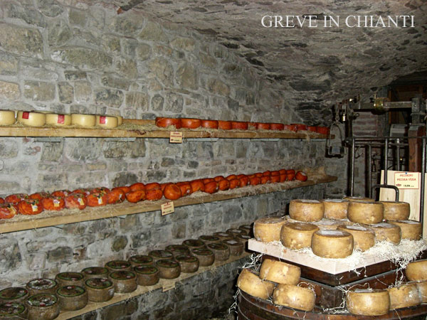 Chianti Cheese Cave in Italy!