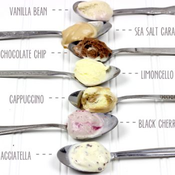 The new 7 flavors of Häagen-Dazs gelato!