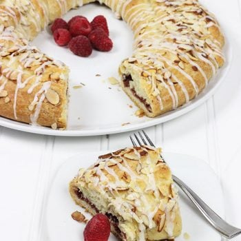 Raspberry Almond Kringle