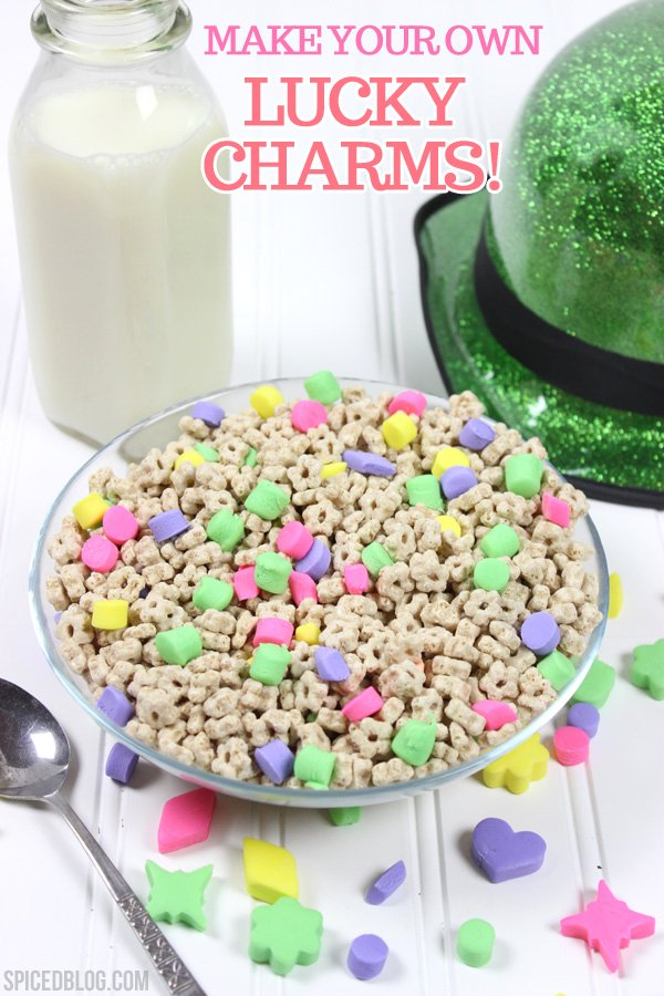 How to Make Your OWN Lucky Charms!