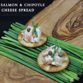 Smoked Salmon & Chipotle Cream Cheese Spread