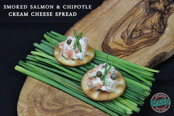Smoked Salmon & Chipotle Cream Cheese Spread