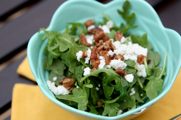 Fresh Arugula Salad - Perfect for Spring! #salad