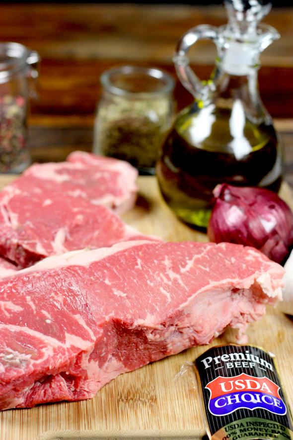 Classic Grilled Steak from spicedblog.com #steakover #steak