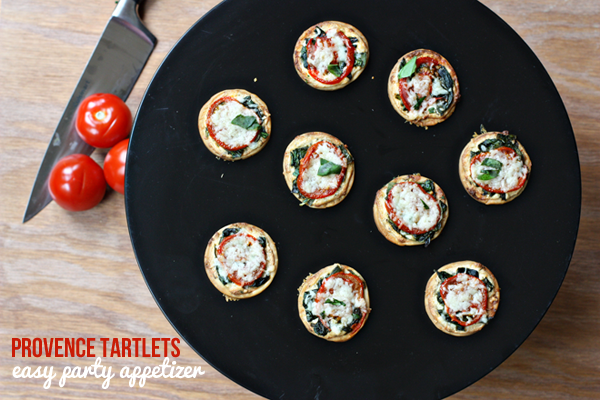 Provence Tarlets - SO good + perfect party appetizer!