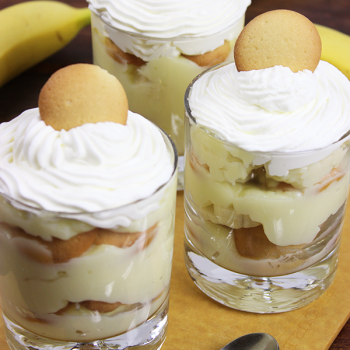 Southern Banana Pudding #bananapudding #homemade