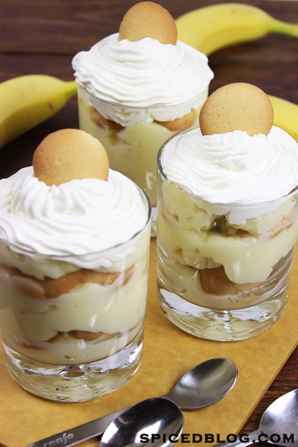 Southern Banana Pudding #bananapudding #homemade