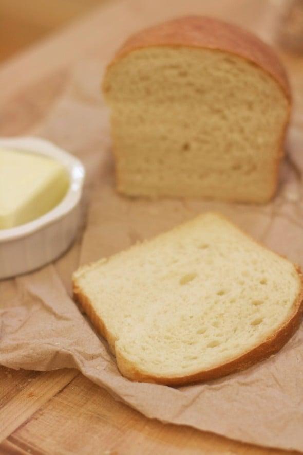 How to make Homemade White Sandwich Bread