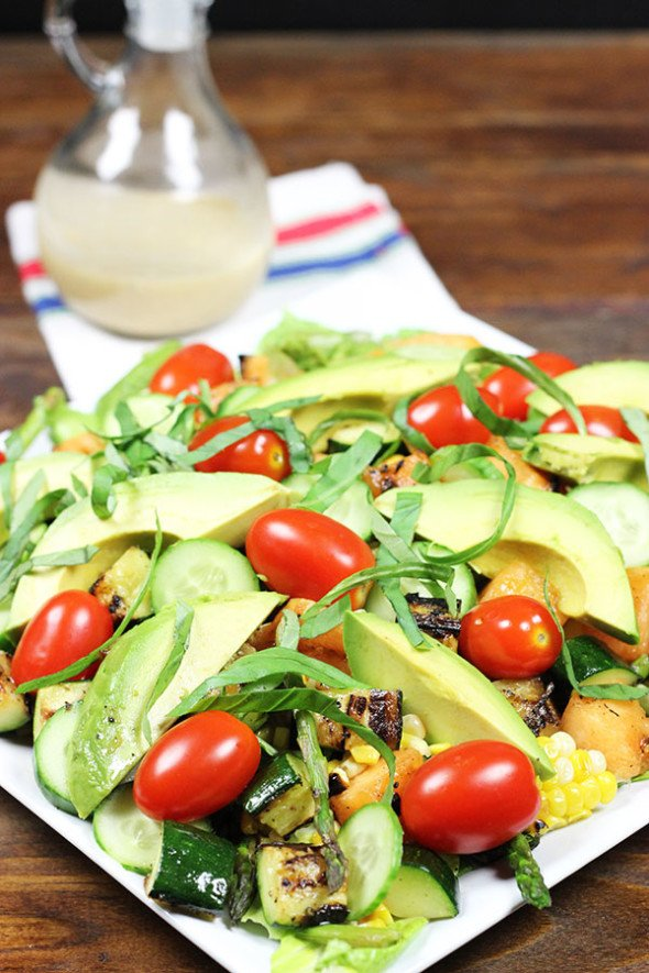Grilled Cantaloupe Salad #grill #summer #thechew