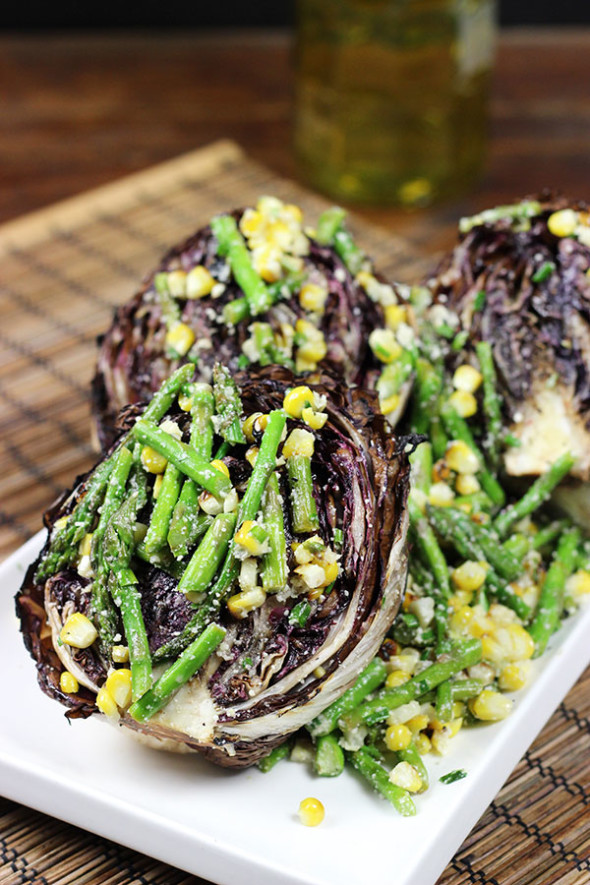 Grilled Radicchio Salad #grill #summer #thechew