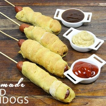 Baked Corndogs from spicedblog.com #fairfood #notfried
