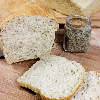 French Herb Bread. Perfect for delicious sandwiches! #bread