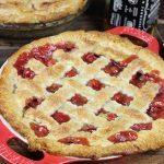 Bourbon Sour Cherry Pie